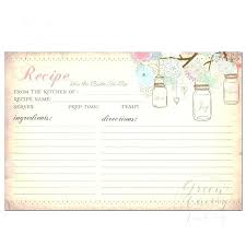 Recipe Card Templates Free Free Printable Recipes Cards Downloadable Recipe Template