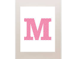 Printable Chevron Letters Printable Chevron Letters Pick Your Color And Letter