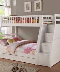girls white bunk beds. Fine Beds Another Great Find On Zulily White Twin Over Full Staircase Bunk Bed By  Bella To Girls Beds