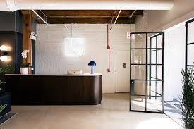 Image Virtual Office Layout Lonny Warm Welcome Tour Interior Defines Cool Chicago Office