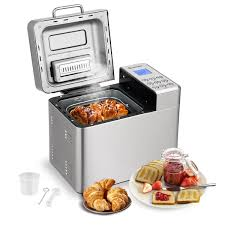Costway Costway 2 Lb Automatic Bread Maker Stainless Steel