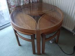 teak round coffee table plan
