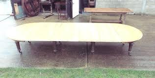 extending oak dining table set light large living room decoration inside