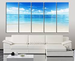 large wall art blue sea landscape and beach wall art canvas 5 piece large ocean on extra large ocean wall art with large wall art blue sea landscape and beach wall art canvas 5 piece
