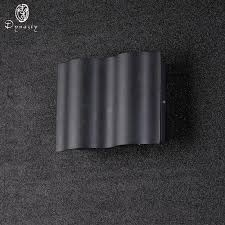 Dynasty Lighting <b>Modern</b> Simple LED <b>Aluminum Wall Lamp</b> Water ...