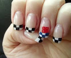 Nascar Nail Art Designs Pin On My Nail Art