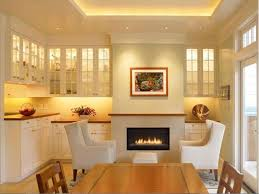 Built In Cabinets Beside Fireplace Gorgeous Home Kitchen Design Ideas With Astounding White Wood