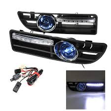 2003 Jetta Fog Lights Us 31 5 18 Off 2pcs Led Fog Light Bumper Grille Grill Drl Switch Harness For Vw Jetta Bora Mk4 1999 2000 2001 2002 2003 2004 In Racing Grills From