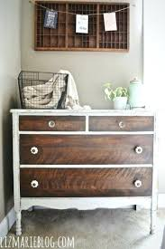 Two tone furniture painting Distressed Two Tone Furniture Painting Two Tone Dresser How To Strip Painted Furniture From Blog Tone Skelinstudios Two Tone Furniture Painting Skelinstudios