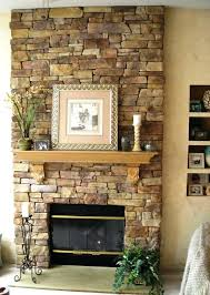 refacing fireplace with stone refacing a stone fireplace diy