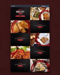 Restaurant Website Design Design Of The Day Chinese Food Restaurant Website Design
