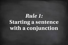 grammar rules you can probably ignore reader s digest reader s starting a sentence a conjunction