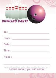 bowling invitation templates bowling party invitation templates free download clip art carwad net