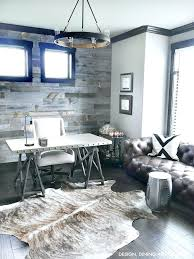 rustic modern office modern rustic office love everything minus the rug modern rustic desk chair