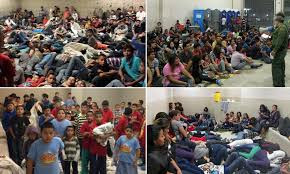 Image result for immigrant children on border