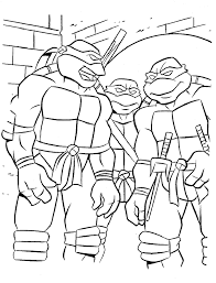 Small Picture Ninja Turtles Coloring Pages Free ALLMADECINE Weddings An
