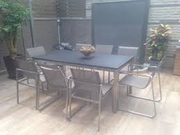 stainless steel kitchen table and chairs. 304 Stainless Steel With Granite Table Kitchen And Chairs A