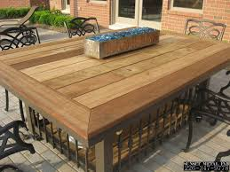 diy outdoor table. Design Of Patio Table Tops Interesting Ideas For Outdoor Together With Photos Diy