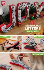 Photo Block Joy letters