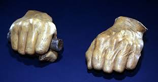 abraham lincoln presidential library a little touch of history cast hands by leonard volk