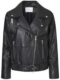 machine leather jacket oversized xs only black uni