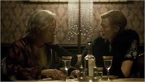 brad pitt stars in david fincher s take on an f scott fitzgerald  brad pitt tilda swinton stars as benjamin button credit merrick morton paramount pictures and warner brothers pictures ""