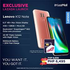 Lenovo K12 Note now in the Philippines ...