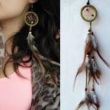 Dream Catcher Earing Tribal Dream Catcher Earring Romeo Foxtrot 8