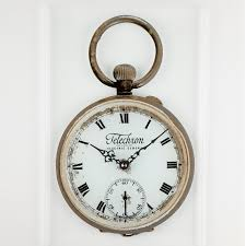 the pocket watch wall clock g131117 3