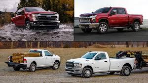 Ford Truck Comparison Chart Ford Vs Chevrolet Vs Ram Heavy Duty Truck Prioritizer