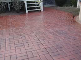 Brick Patterns For Patios Stamped Concrete Brick Pattern Patio Gardens Pinterest