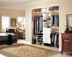 built in closet bedroom