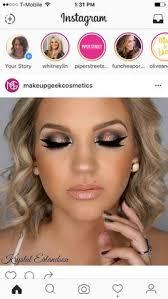 makeup geek eyeshadows in peach smoothie creme brulee americano and corrupt makeup geek foiled eyeshadows in starry e and steunk makeup geek