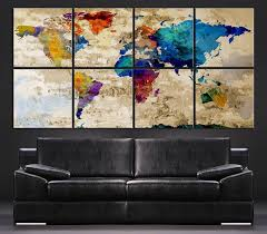rustic world map art fresh hobby lobby