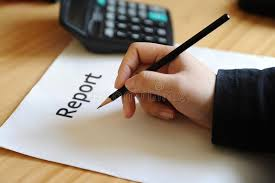 write a report report write stock image image of calculate legal finger 17464417