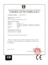 Certificate Certificate Of Compliance Form