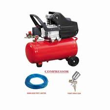 heavy duty air compressor 50l with 2hp motor combo with paint