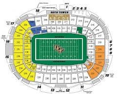 Ucf Football Stadium Map Related Keywords Suggestions