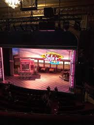 Brooks Atkinson Seating Chart Brooks Atkinson Theatre Section Rear Mezzanine Rc Row K