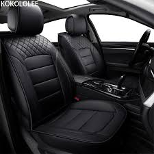 whole kokololee pu leather car seat covers for kia all models rio k2 3 4 cerato sportage cars cushion auto accessories car styling baby girl infant car