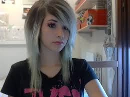 easy emo scene make up and hair tutorial