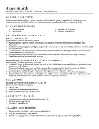 Professional Resume Adorable Advanced Resume Templates Resume Genius