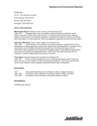 Generator Repair Sample Resume Sample Resume Experienced Driver Copy Truck Driver Resume With No 94