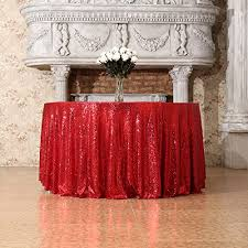yemyhom spill proof fabric round tablecloth for dining room wedding and party 60 round wine red kitchen dining wrkbn2a3o