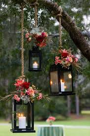 ideas outdoor hanging solar lanterns lights for trees outside tree from wedding electric awesome lamp in