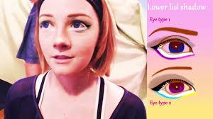 basic anime eyes makeup tutorial