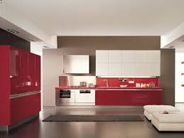 Red And White Kitchens Kitchens With Red Walls And White Cabinets Home Furniture