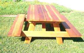 redwood picnic table plans homemade picnic table most tremendous picnic tables with separate benches redwood table redwood picnic table plans