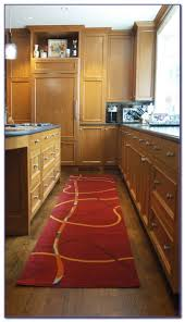 primitive kitchen rugs ideas beamed country with small dog lying on red patterned kelim e8b0ga braided