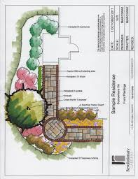 Small Picture Download Landscape Plans Front Yard Solidaria Garden